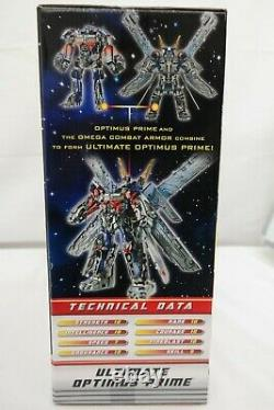 Transformers Dark of the Moon Ultimate Optimus Prime Mechtech Action Figure TY