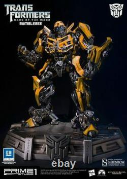 Transformers Excl Bumblebee Statue Prime 1 Studio Sideshow Dark Side Of The Moon