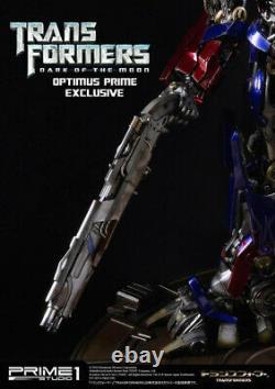 Transformers Optimus Prime Statue Dark Of The Moon Prime 1 Sideshow New