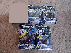 Transformers Prime Dark Energon Deluxe Set Lot Starscream Knockout Wheeljack +1