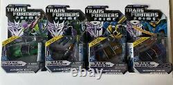 Transformers Prime Dark Energon Deluxe Starscream Knockout Wheeljack Bumblbee