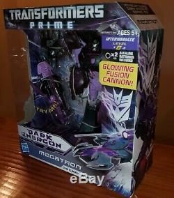 Transformers Prime Dark Energon Megatron Exclusive Voyager Class MISB US Seller