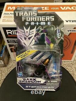 Transformers Prime Dark Energon Megatron Optimus Prime Starscream Lot (Nib)