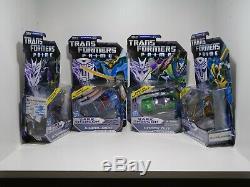 Transformers Prime Deluxe Dark Energon Bumblebee Wheeljack Knock Out Starscream