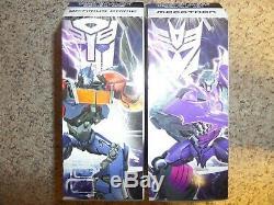 Transformers Prime Voyager Class Dark Energon Optimus Prime & Megatron