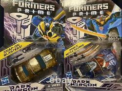 Transformers prime dark energon and Wheeljack Lot of 6
