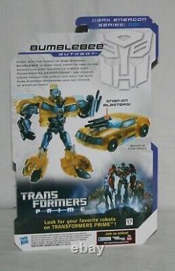 Transformers prime dark energon bumblebee wheeljack starscream knock out MOSC