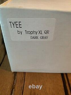 Trophy XL Tyee QL Mooching Reel. Dark Gray Finish. Canadian Top Quality