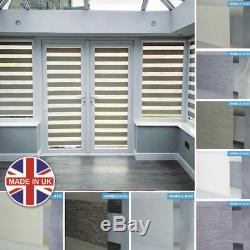 UK QUALITY PERFECTLY FITTED Day and Night Vision/Zebra PATIO DOOR BLIND
