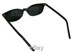 Unisex High Quality Small Black Frame Sunglasses Dark Tinted UV400 Lens CL024