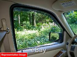 WeatherTech Side Window Deflectors for Nissan Rogue/Select 08-15 Full Set Dark