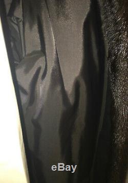 Womens High Quality Natural Dark Chocolate Ranch Mink Coat- Dasco(Sz M/L)Fits XL