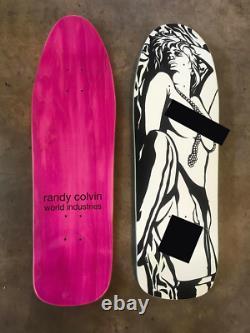 World Industries Prime Colvin Censorship Marc McKee Glow In Dark Skateboard Deck