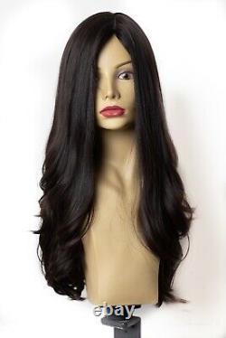 Yaffa Wigs Finest Quality Dark Brown 100% Virgin Human European Hair