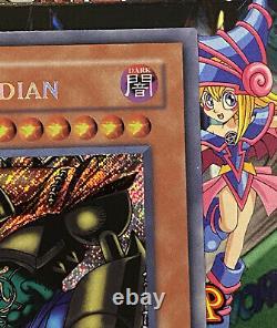 Yugioh Gate Guardian Secret Rare MRD-000 Konami MINT NEVER PLAYED PSA 10 Quality