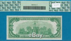$ 100.1928 Cleveland Dark Green Seal Réserve Fédérale Remarque Gpc Choix New 63ppq