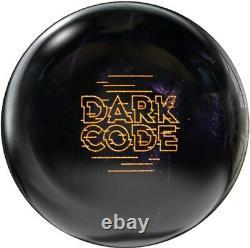 14lb Nib Storm Dark Code Nouveau 1er Balle De Bowling De Qualité Obsidian