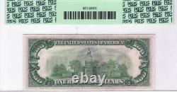 1934 $100.00 Fed Res Note Fr. 2152-e Dark Green Seal Pcgs Choice New-63 Ppq
