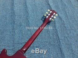 1959 Lp Standard Electric Guitar Foncé Vs Couleur De Bonne Qualité Et Son Full Size