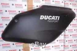 1999-2007 Ducati Sport 750 Modèles Demi-carénage Dark Couleur R / H Side # 2 Qualité