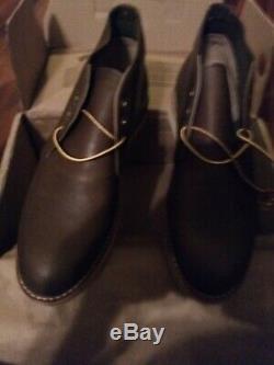 1ère Qualité! Chaussures Red Wing 8596 Chocolat Noir Chukka Bottes USA 10d Style Rare