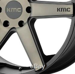 20 Noir Mat Jantes Kmc F150 F150 Noir Navigator Tint Expedition
