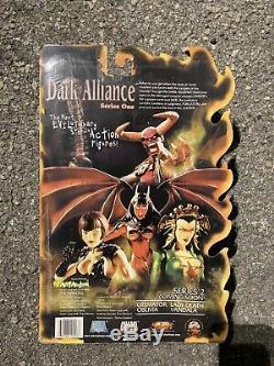 2001 Diamond Select Art Asylum Dark Alliance Série 1 Lucifer Pni