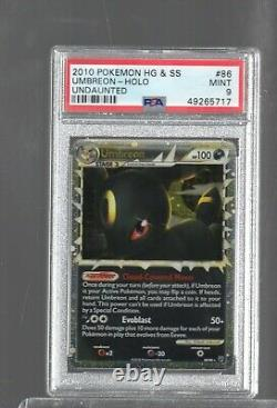 2010 Undaunted 86/90 86 Umbreon Prime Holo Psa 9