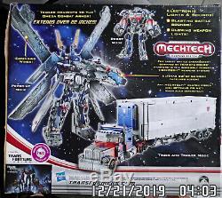 2011 Transformateurs Hasbro Cachée De La Lune Ultime Optimus Prime Diaclone Ny