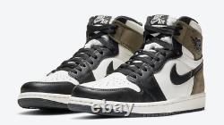 2020 Nike Air Jordan 1 Rétro High Dark Mocha 555088-105 Gs & Hommes En Main Maintenant