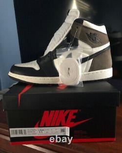 2020 Nike Air Jordan 1 Rétro High Dark Mocha 555088 105 Gs - Hommes Sz 11