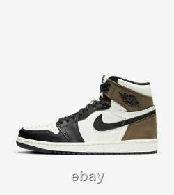 2020 Nike Air Jordan 1 Retro High Dark Mocha 555088 105 Gs & Men Sz 4y-14
