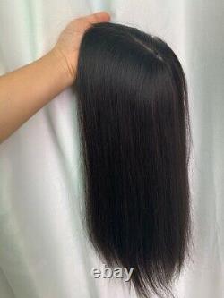 5.5x6 Silk Top 100% Haute Qualité Cheveux Humains Topper Hairpiece-new Base Design