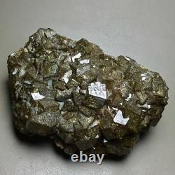 6760g Museum Quality-rare Natural Huge Dark Brown Rhombus Garnet Crystal Cluster