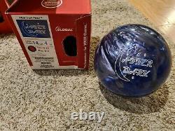 900 Mondial After Dark Perle 1ère Qualité Boule De Bowling 14 Livres 3.5 Pin