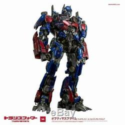 Aaa Threea Transformateurs Dark Side Lune Optimus Prime Prime Échelle De Collection