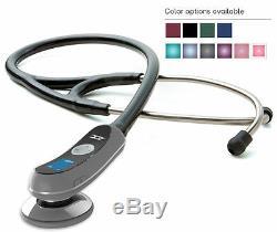 Adc Adscope 658 Stéthoscope Electronique Numérique Amplification 18x 10 Choix De Couleurs