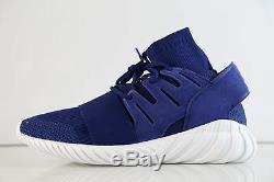 Adidas Tubular Doom Pk Brun Foncé Bleu Profond S80103 7,5-13 Tricot De Premier Choix Rf 1