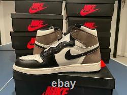 Air Jordan 1 Rétro High Og Dark Mocha 555088 105 Men Taille 8.5-14 Authentique