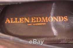 Allen Edmonds Nib Pérouse Italienne Tassel Loafer 1ère Qualité Sz 11.5d Brun Foncé