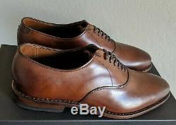Allen Edmonds Noir Chili Carlyle Avec Shoe Trees, Première Qualité, Tout Neuf Taille 9d