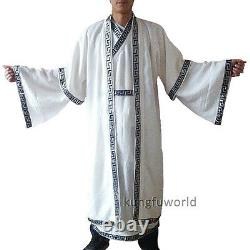 Authentique Wudang Taoist Robe Tai Chi Kung Fu Uniforme Art Martial Wushu Vêtements
