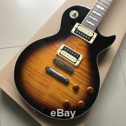 Boutique De Haute Qualité Dark Flame Maple Top Guitare Électrique (livraison Gratuite)