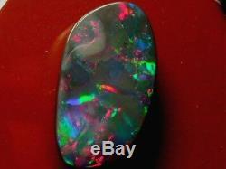 Brillant Sparking Motif Couleur Assez Bonne Qualité Gris Foncé Opal 11,59 Carats