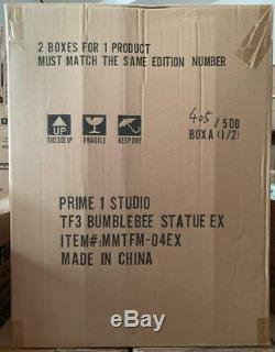 Bumblebee Statue Exclusif Prime 1 Studios Le500 Neuf