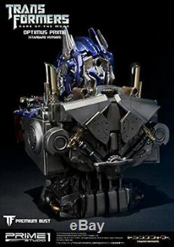 Buste Haut De Gamme Transformateurs Dark Side Lune Optimus Prime Polystone Buste