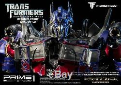 Buste Premium / Transformateurs / Cachée De La Lune Optimus Prime Poly Fi Buste En Pierre