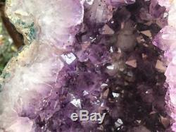 Cathédrale Amethyst Geode Grande Qualité Et Couleur Très Foncé Points Livraison Gratuite