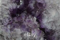 Cathédrale Améthyste Geode Cristaux Avec Une Grande Énergie Super Qualité Pts Très Sombre