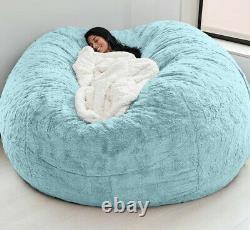 Chaise De Chaise De Sac De Haricots De Haute Qualité Extra Large Sofa 7ft Couch Seat Living Room
